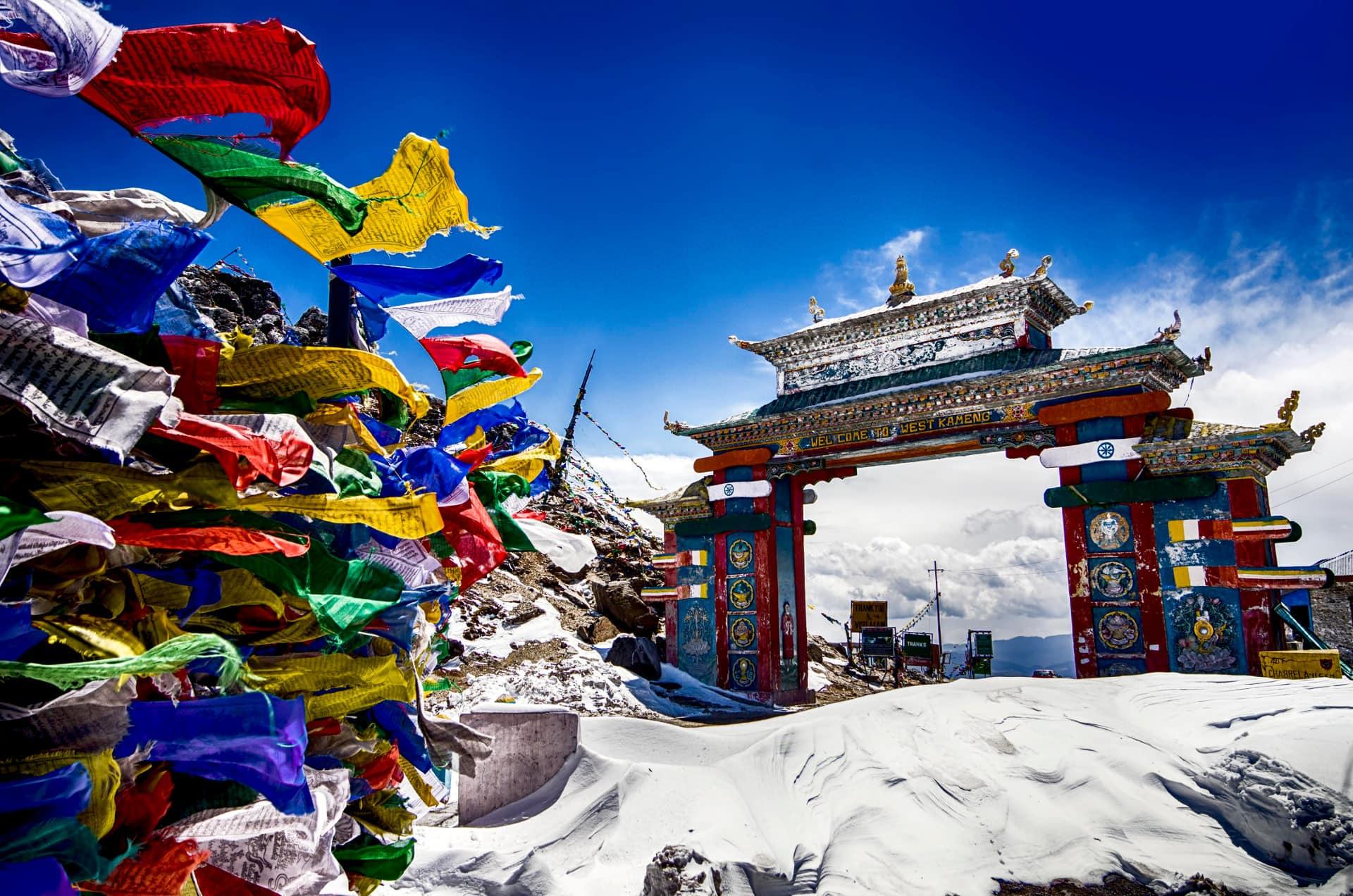 Porte de Tawang au Sela Pass en Arunachal Pradesh