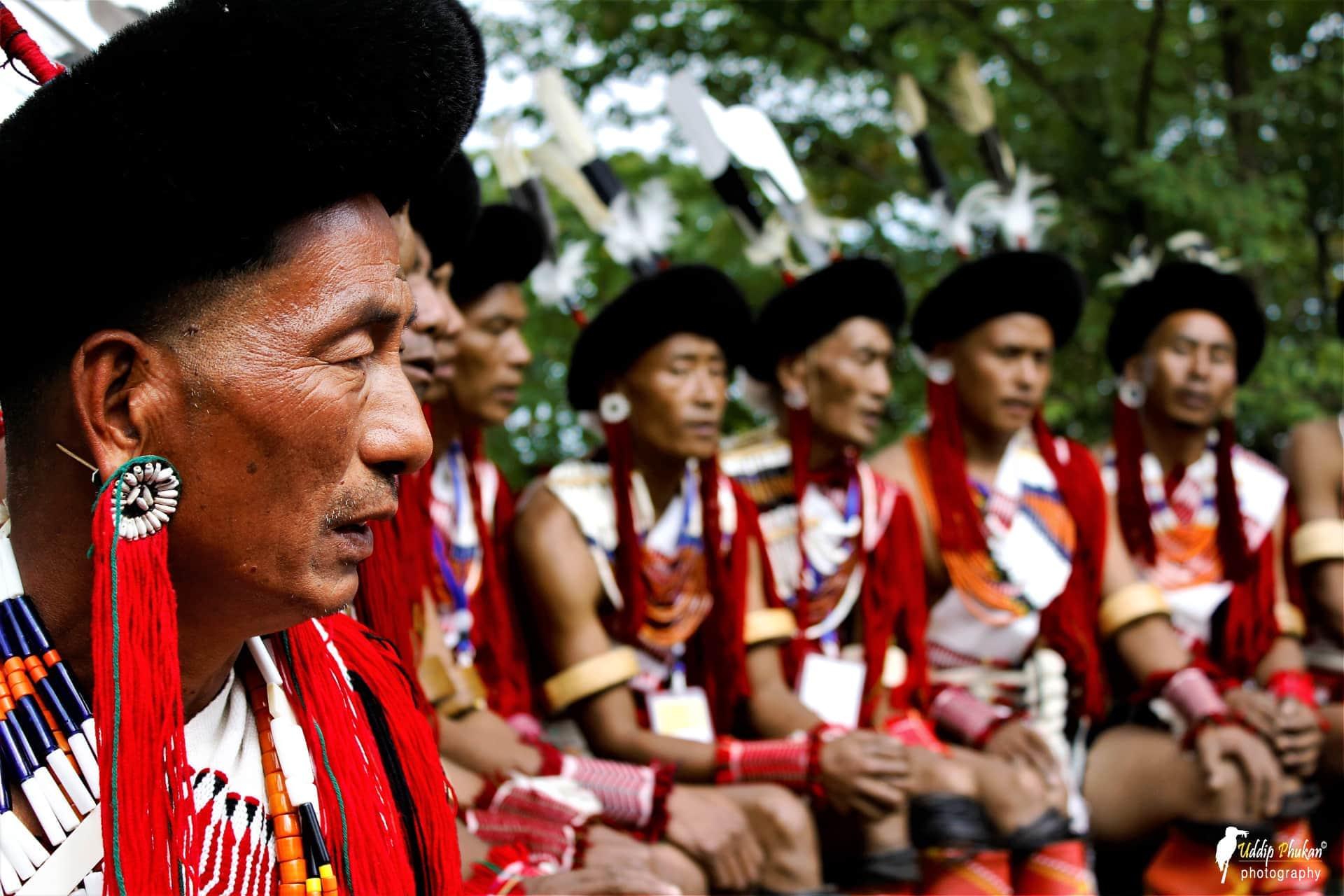 Tribus du Nagaland