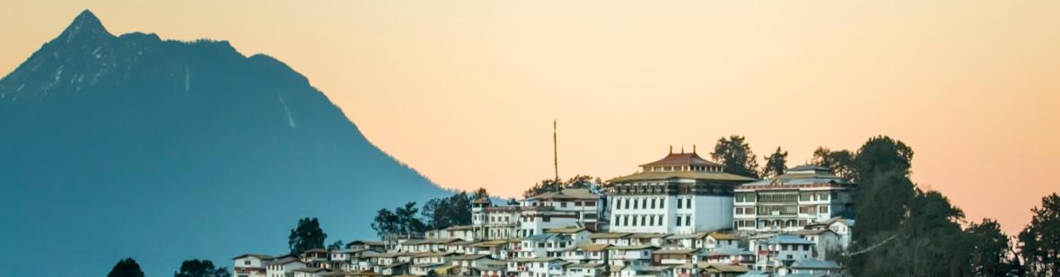 Monastère de Tawang en Arunachal Pradesh