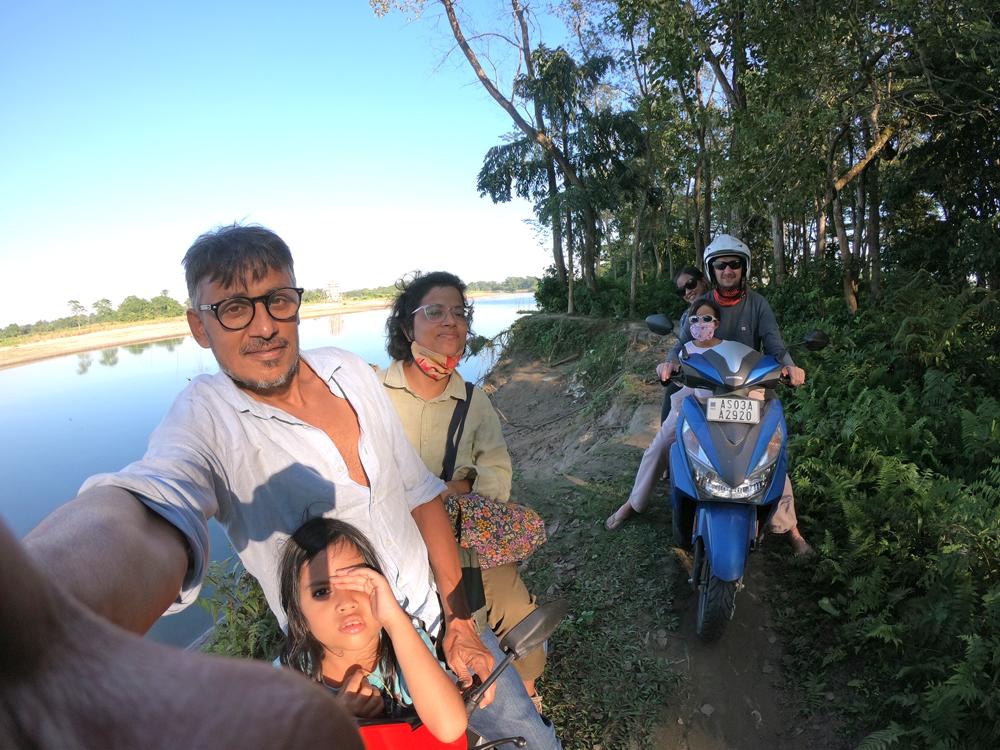 Les aventures d'une famille en Assam – Partie 2: Majuli