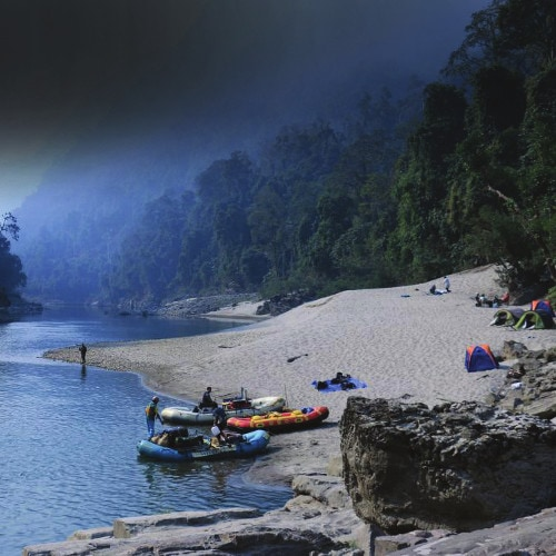 Rafting Tours and Angling, Fishing Expedition in North East India